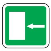 Safe Safety Sign - Door Left 043